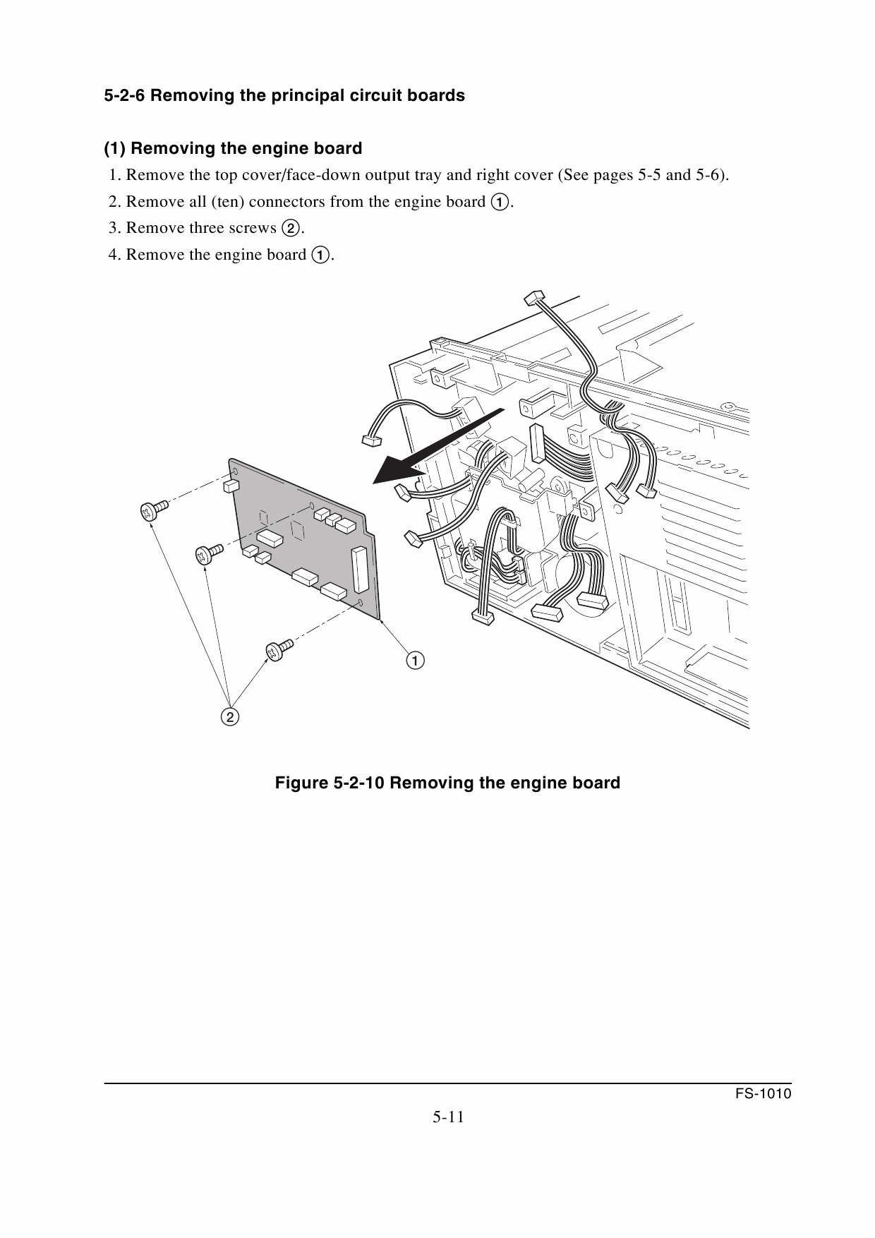 KYOCERA LaserPrinter FS-1010 Parts and Service Manual