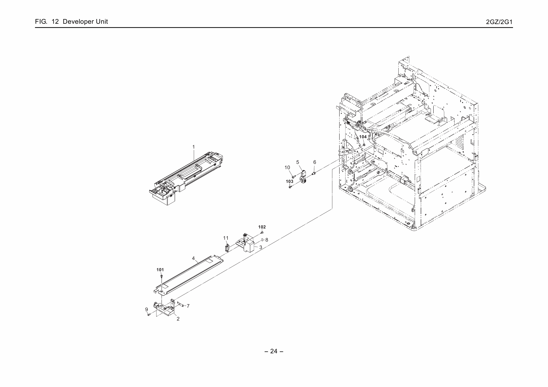 KYOCERA LaserPrinter FS-9130DN 9530DN Parts and Service Manual
