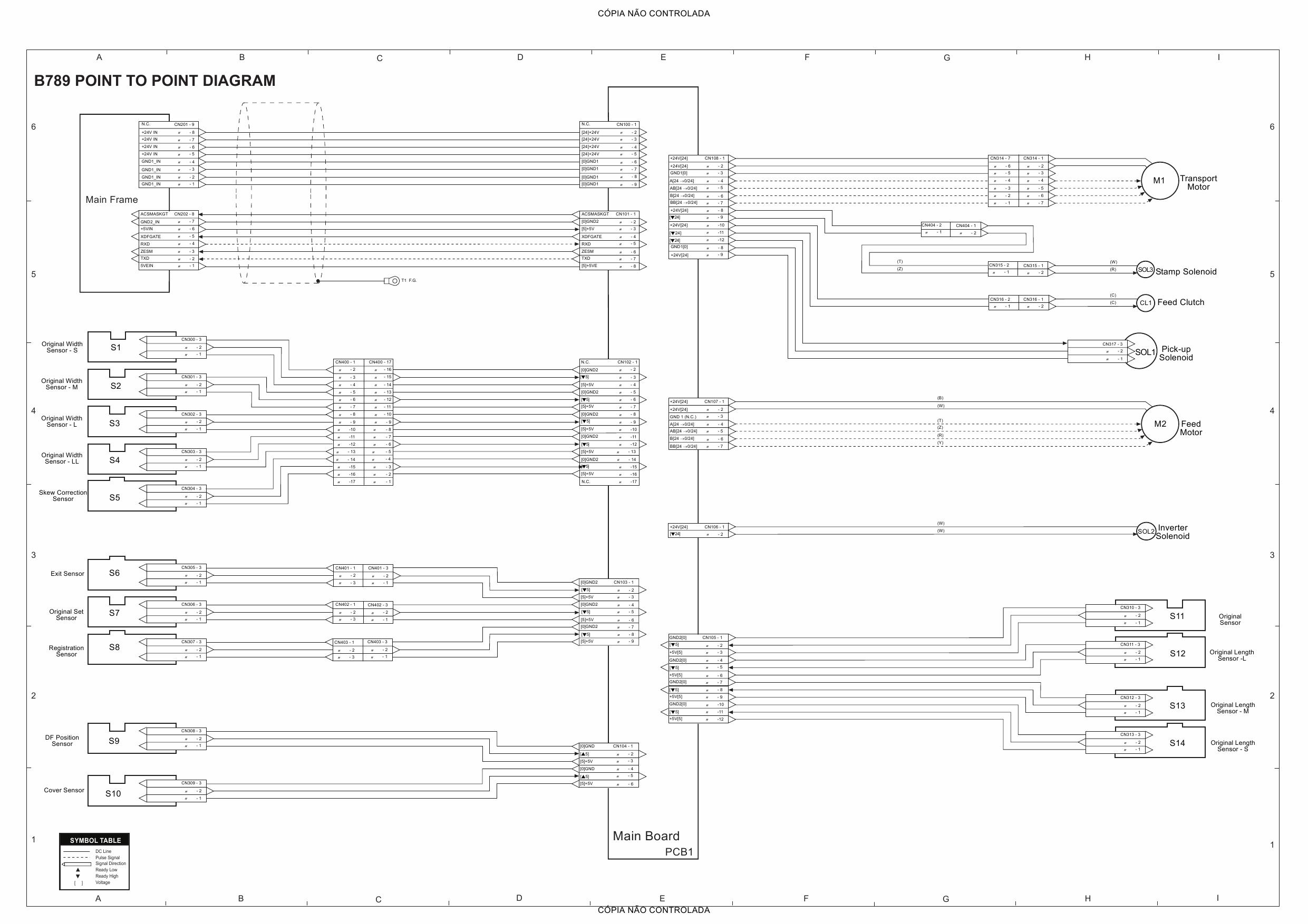 RICOH Aficio MP-C2000 C2500 C3000 B230 B237 D042 Circuit