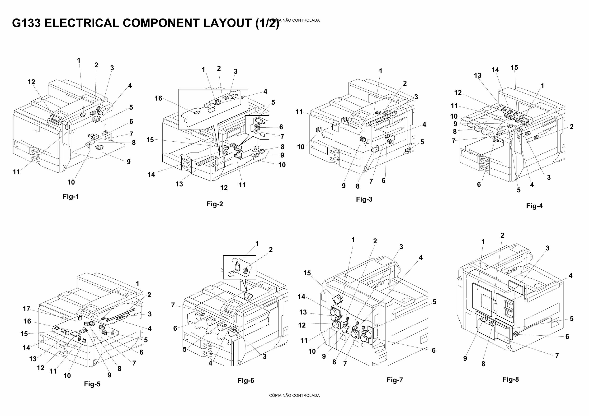 RICOH Aficio SP-C811DN G133 Circuit Diagram