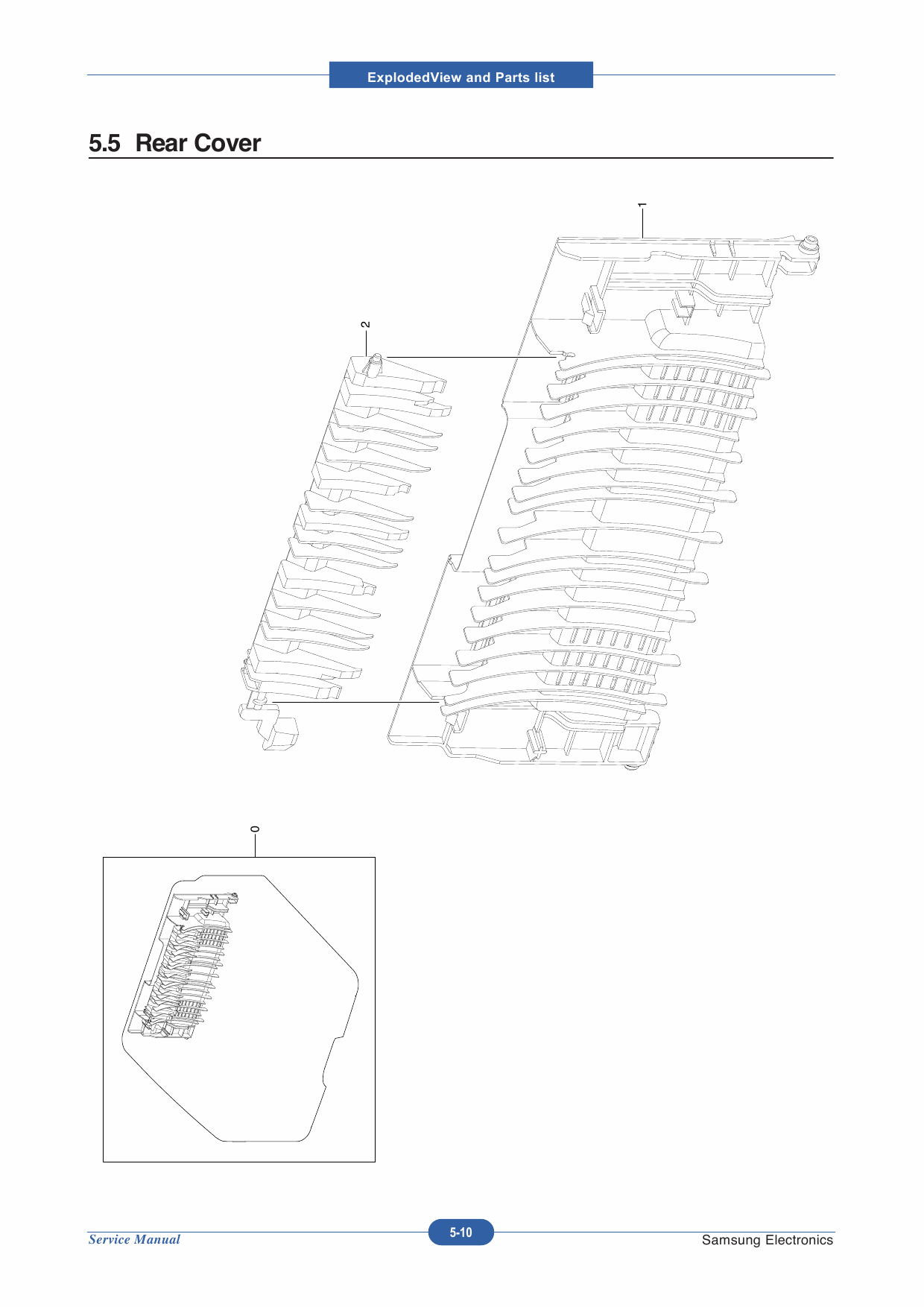 Samsung Laser-Printer ML-2850D 2851ND Parts Manual