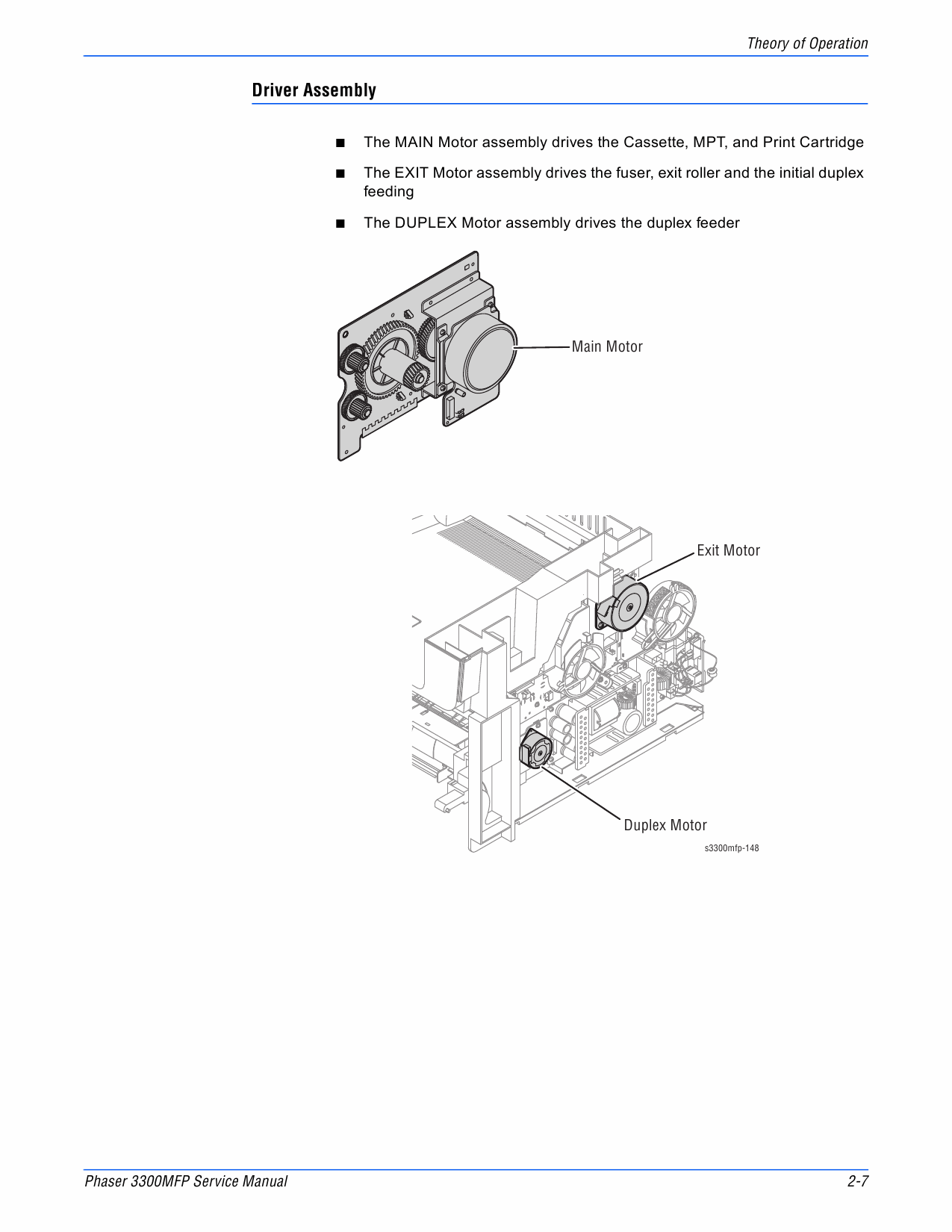 Xerox Phaser 3300-MFP Parts List and Service Manual