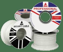 CQR Alarm Cable 12X0.182 - CAB12/WH/100/PR