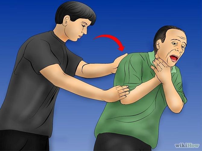 Maniobra de Heimlich paso 4