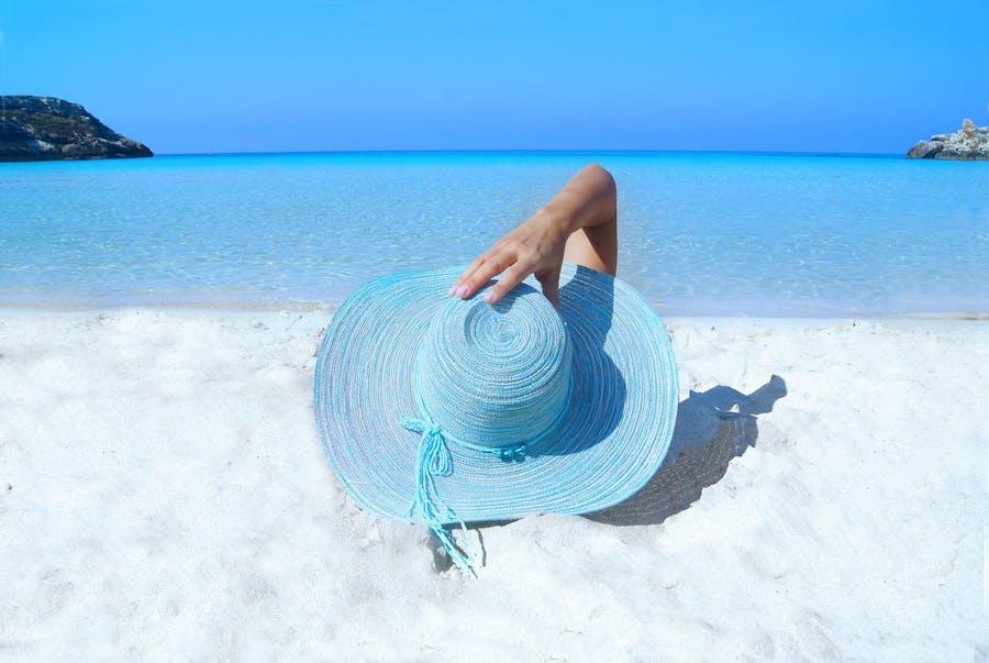 sol piel verano