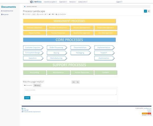 document management system qmbase