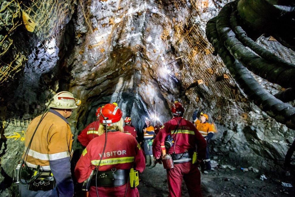 Glencore underground mine