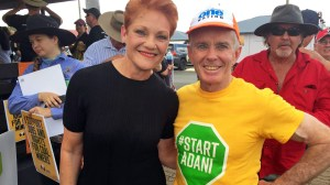 Pauline Hanson and Malcolm Roberts One Nation Clermont