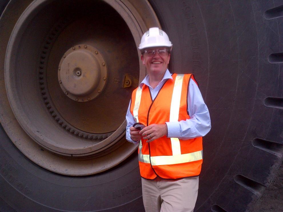 Bill Shorten at McArthur River Mine in NT