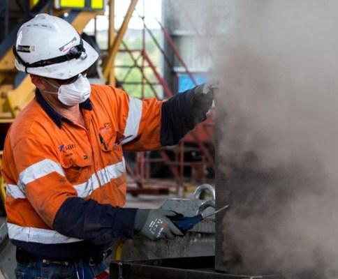 Lung disease dust exposure coal mining