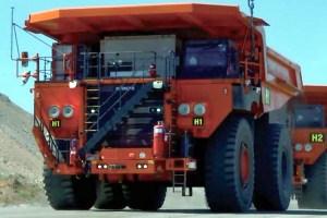 Hitachi driverless truck