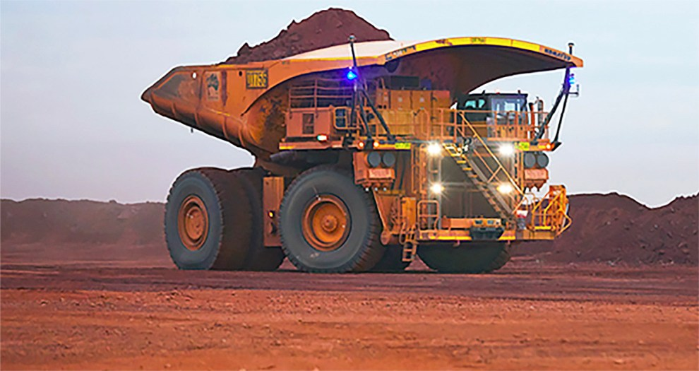 Fortescue driverless truck