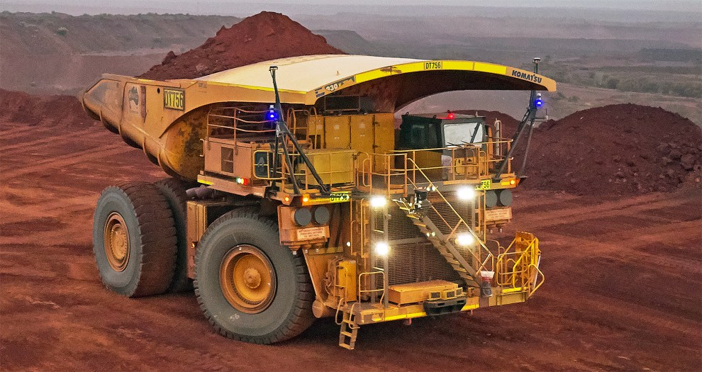 Fortescue Metals Group driverless truck