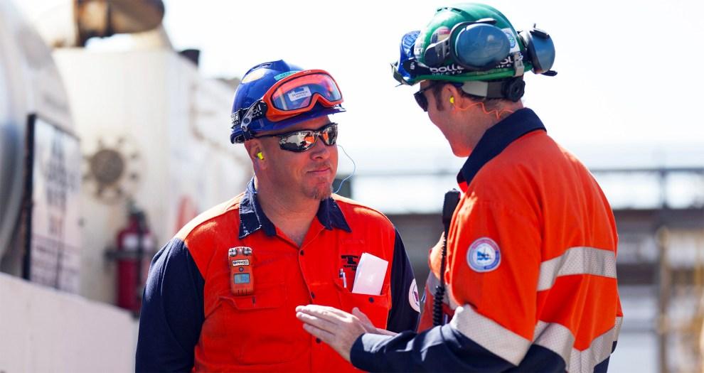 ExxonMobil workers