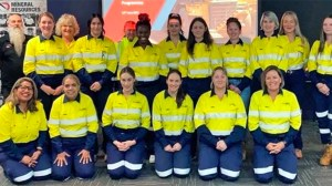 Mineral Resources trainees