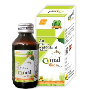 Anti-Malarial Herbal Medicine QMAL-VEDA-100ML