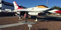 September 12, 2018 | Nellis AF Base, Las Vegas, NV | Thunderbird Aircraft