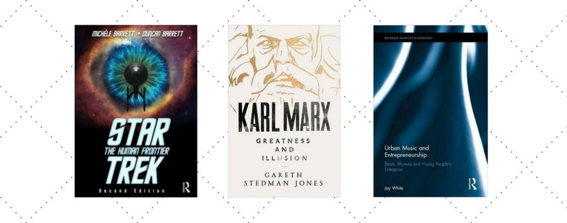 3 Book Launches Coming Up including Star Trek: The Human Frontier