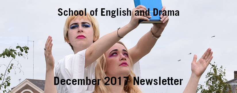 English and Drama Newsletter – December 2017