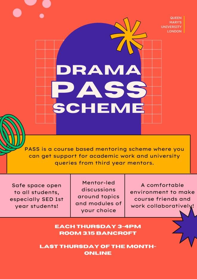 Drama pass scheme
