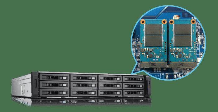 Qnap TVS-EC1280U-SAS-RP-8GE-R2