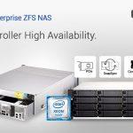 QNAPは新しいデュアルコントローラー、ES1686dc Enterprise ZFS NASを発表 – ストレージ効率性の最適化とアクティブ – アクティブ高可用性が特長