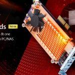 QNAP、PC/NASにM.2 SSDを2スロットと10GbEを1ポートを追加する新しいQM2 PCIeカードを発表