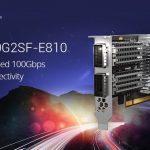 QNAPはWindows/LinuxおよびQNAP NASを対象に、Intel Ethernet Controller E810搭載デュアルポート100GbEネットワーク拡張カードをリリース