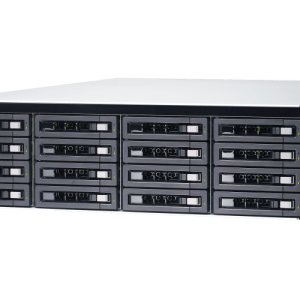 QNAP TDS-16489U-SA2 20-Bay, 3U Rack-mountable (rails included) NAS with 2.40 GHz Intel Xeon E CPU and 128GB RAM
