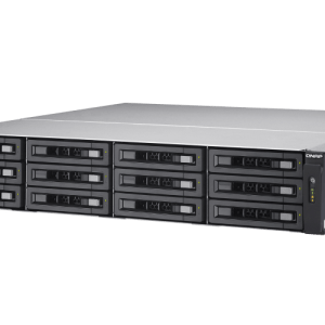 QNAP TES-1885U-D1521-8GR 18-Bay, 2U Rack-mountable (rails included) NAS with 2.40 GHz Intel Xeon D CPU and 8GB RAM