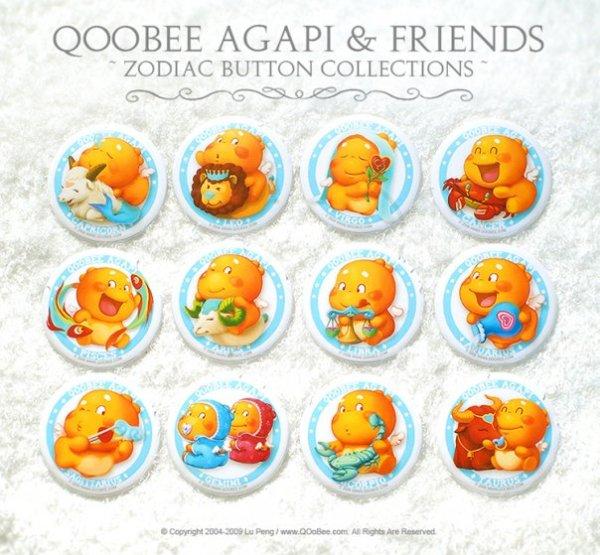 QOOBEE Agapi Zodiac Designs