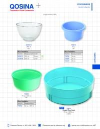 Flexible Mixing Bowl, Green - 503910 | Qosina