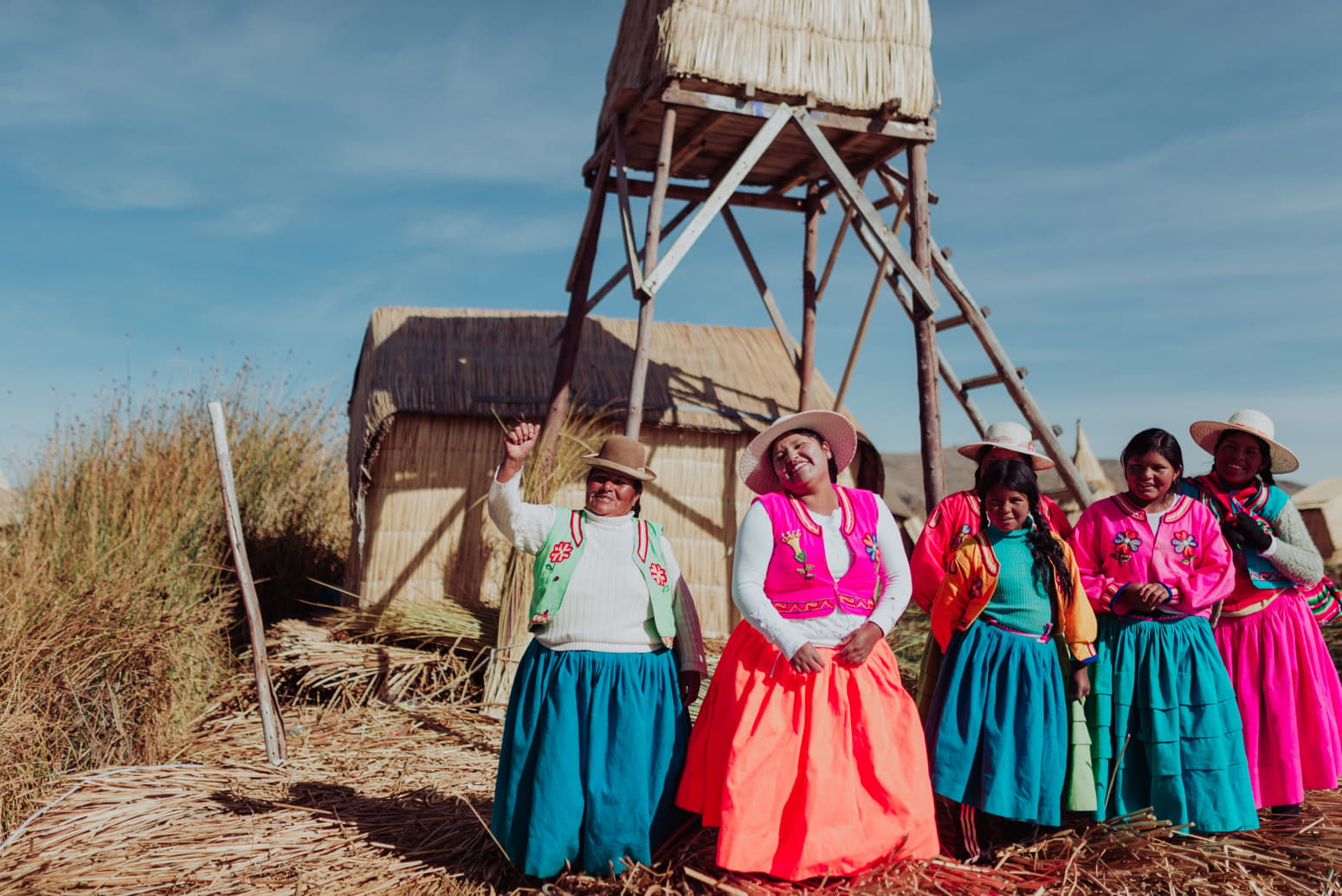 PERSONS ISLANDS OF UROS TOUR