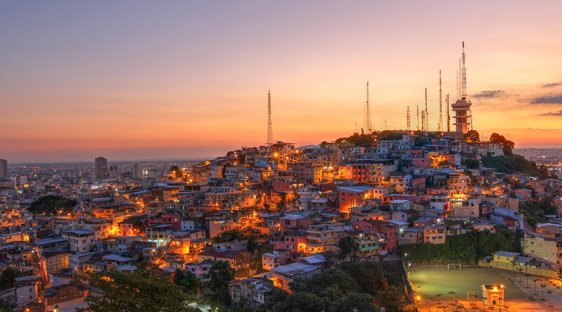 Cusco-to-Lima-and-the-LimaPeru to Guayaquil Ecuador