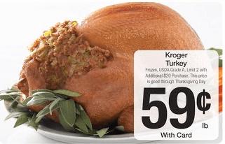 Kroger Turkey $0.59 Per Pound with $10 Purchase - Qpon Junkie
