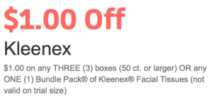 New 11 Kleenex Coupon Bundle Pack Qpon Junkie