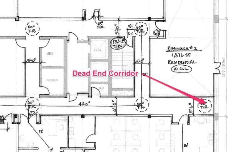 Dead end corridor