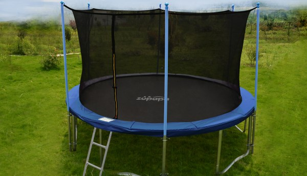 Zupapa 14ft Trampoline Frame Safety Enclosure Spring Pad Jumping Mat Combo