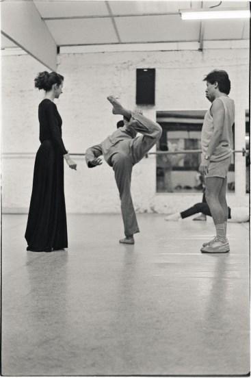 Dance Studio, Santiago, Chile, 1988