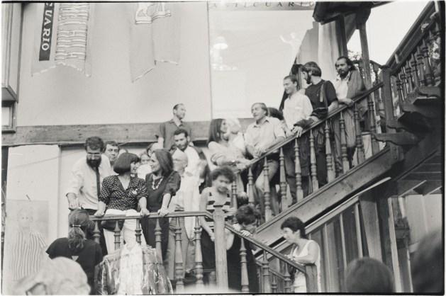 Inauguración, Bellavista, Santiago, Chile, 1988
