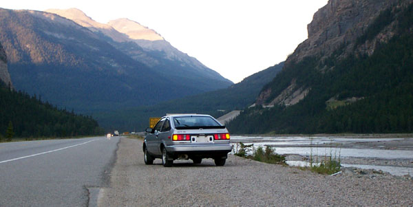 My First AE86 somewhere in the mountains
