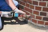 Re-Pointing Of Exterior Brickwork Mortar Joints