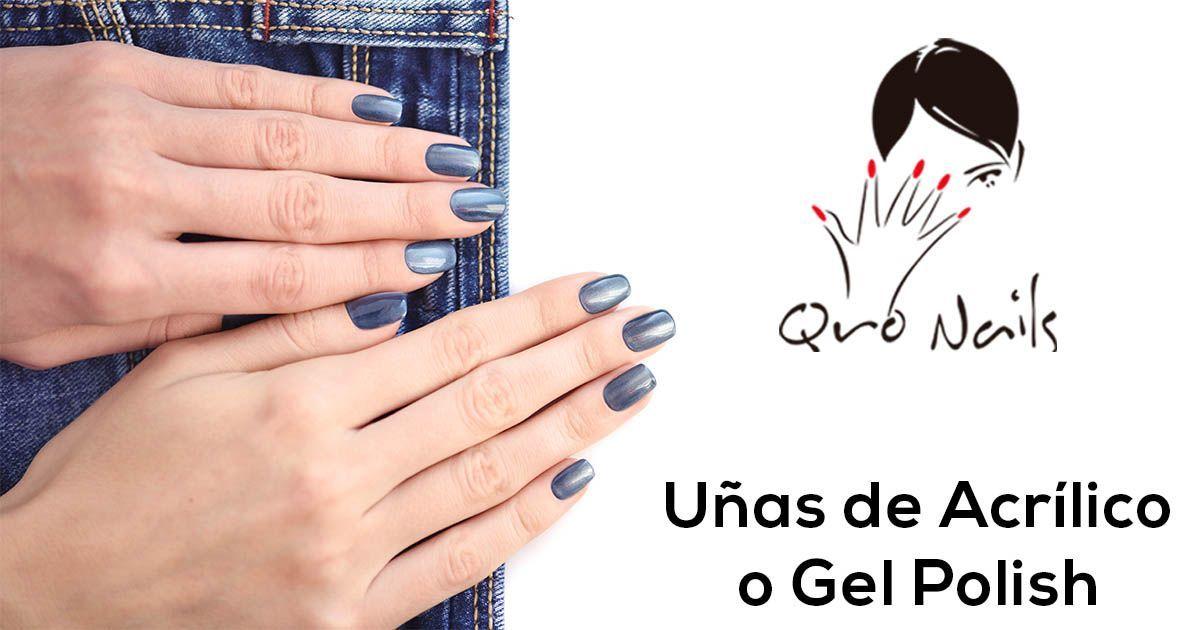 Qro Nails acrilico o gel polish