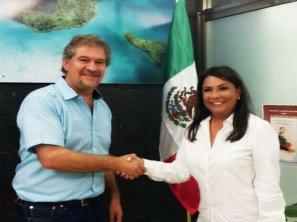 Secretario de Ecología y Medio Ambiente (SEMA) Alfredo Arellano Guillermo nombró como subsecretaria de Política Ambiental a Graciela Saldaña Fraire