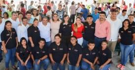 Convoca Laura Fernández a los jóvenes a trabajar por un mejor Puerto Morelos 4