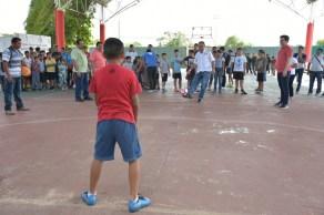 Inauguran autoridades en FCP los talleres recreativos de verano Baax Lo´ob Pala lo'ob 9