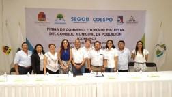 Instala Puerto Morelos el Consejo Municipal de Población 5