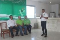 Rinde protesta Sebastián Escobedo Jiménez como presidente del Comité Ejecutivo Municipal del PVEM en Isla Mujeres 2