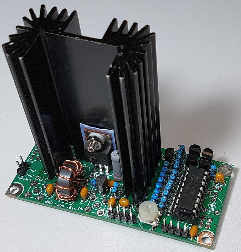 Foldback Current Limited High Voltage Regulator Powersupplycircuit