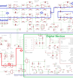 the two most useful diagrams for fault finding are the circuit diagram the parts layout diagram and the tracks diagram remember that on the tracks  [ 2185 x 1142 Pixel ]